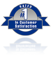 Rated #1 in customer Satisfaction